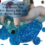 Messy Play and Fine Motor with Munchy Ball