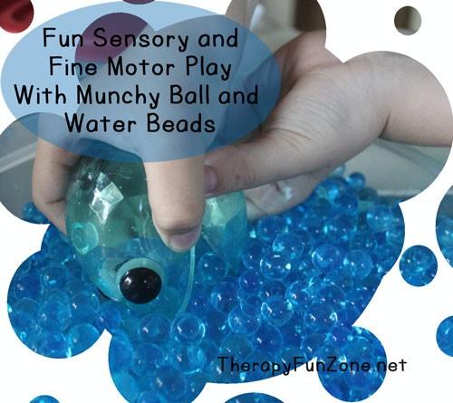 fun sensory and fine motor play