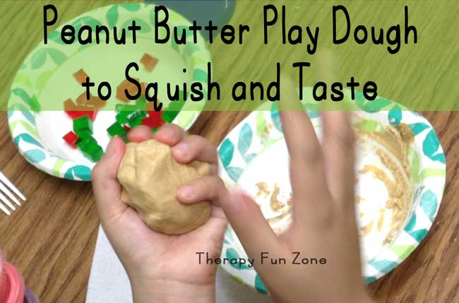 peanut-butter-play-dough-to-squish
