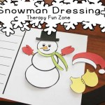 Snow Man Dressing