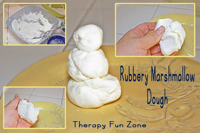 rubbery-marshmallow-dough