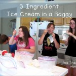 physical activity while making ice cream