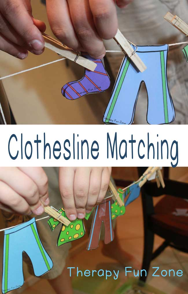 clothesline-matching