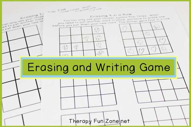 erase-and-writing-game