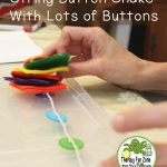 A Button Snake With Lots of Buttons