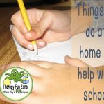 Things You can do at Home to Help Your Child In School