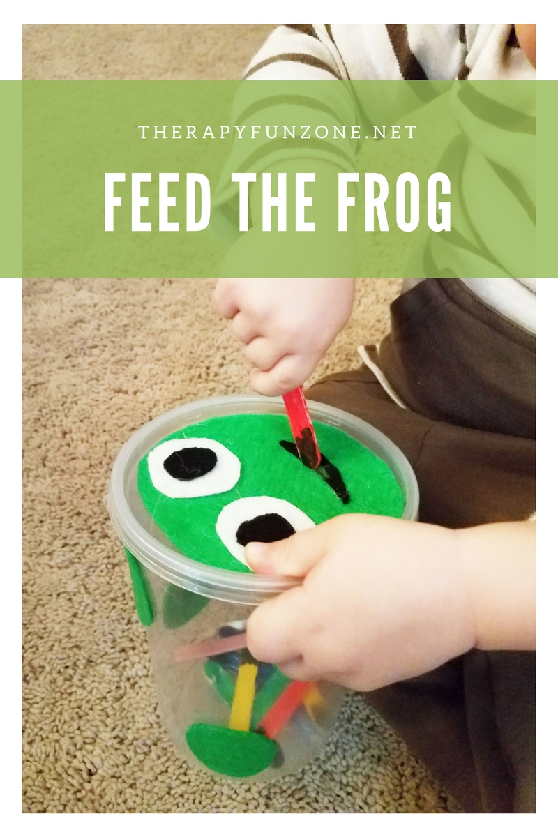 feed the frog