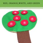 Seasons Button Tree