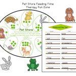 Fine Motor Pet Feeding