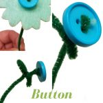Make Button Flowers