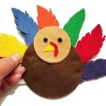 Button turkey to practice buttoning