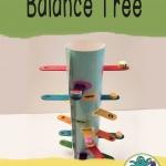 Make a fine motor balance tree