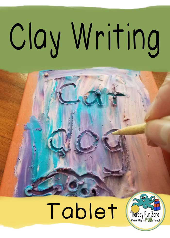 clay writing tablet
