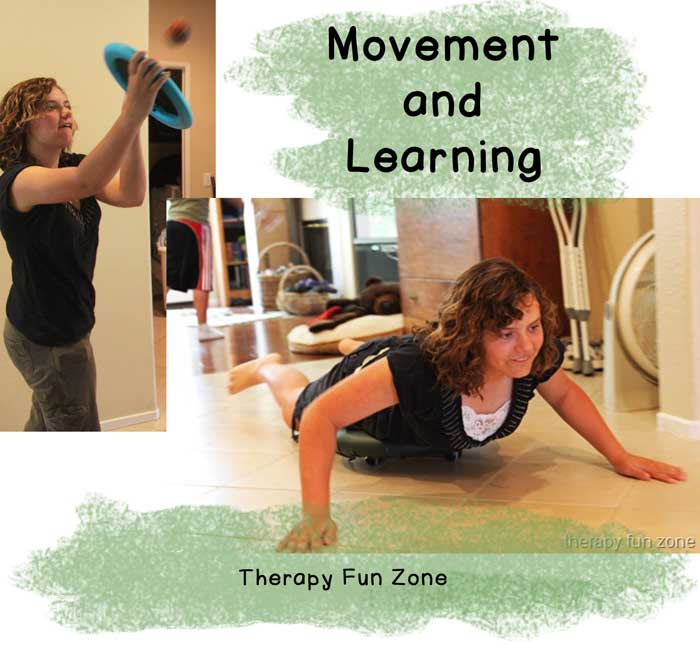 movement is important to learning