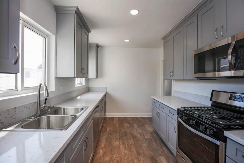 Detached Guest Unit w/ Hip Brand New Kitchen &  Renovated Bathrm w/ Bonus Room & Private Garage Spot