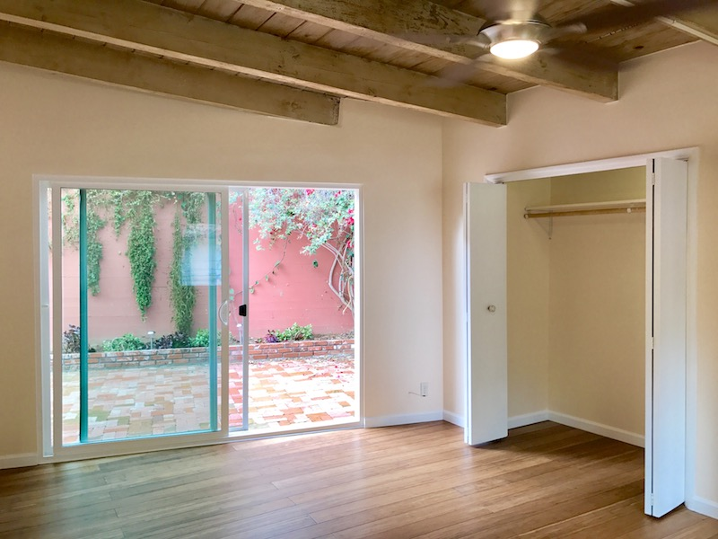 Updated Hollywood Hills Post & Beam Single Family Home w/ Huge Private, Enclosed Patio & Garage