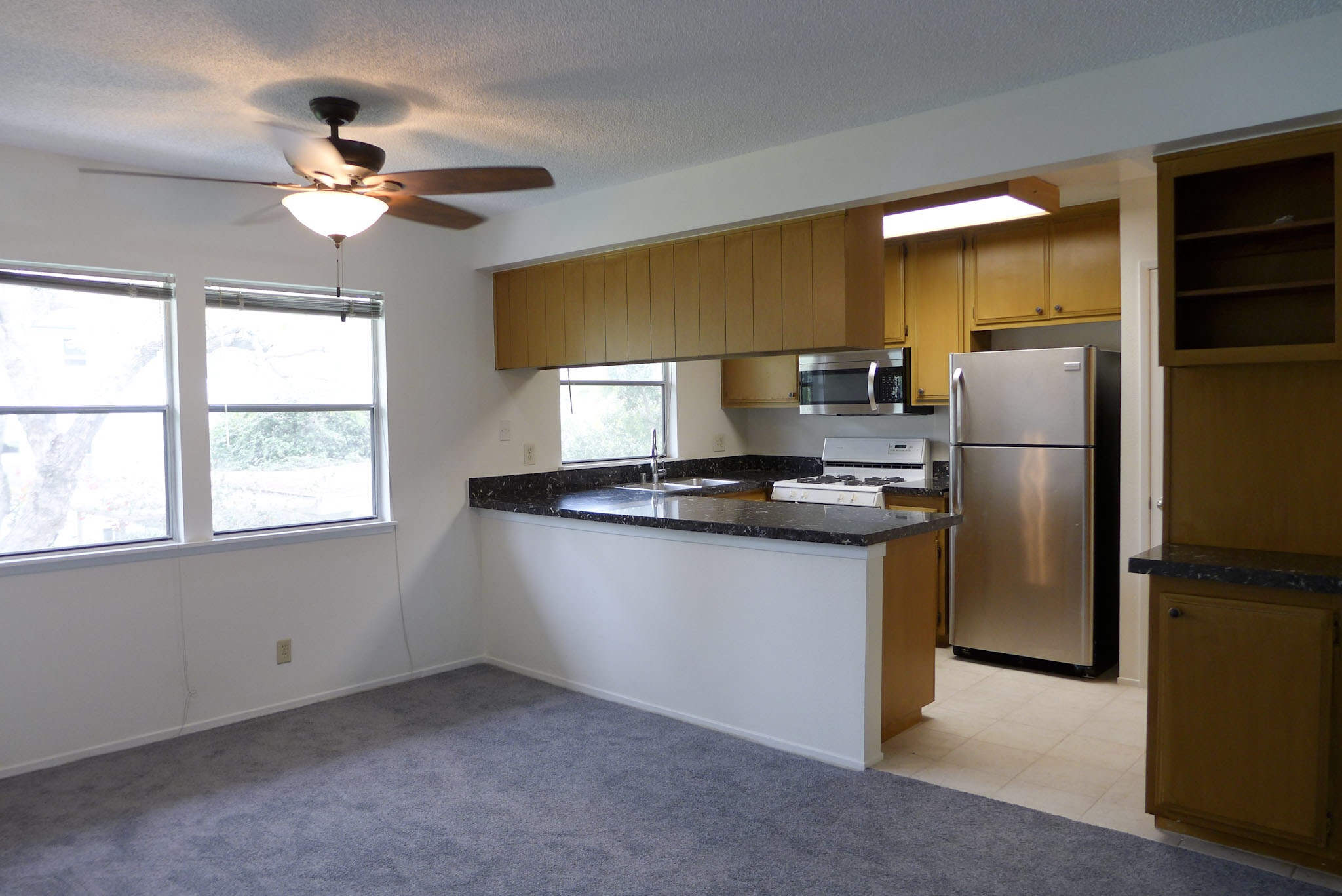 Wow! GATED -Super Spacious 2bed-Renovated Kitchen-CLOSE to everything!