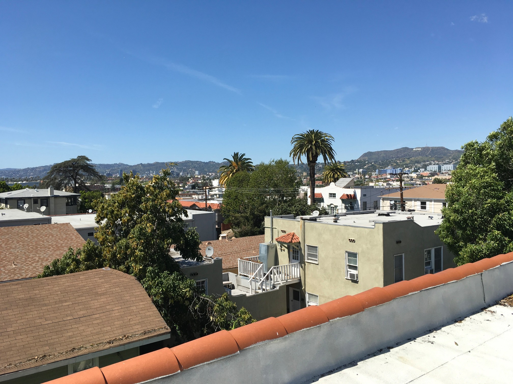 Sunny Silver Lake Upper | Near Sunset Junction |Roof Access w/ Iconic Views