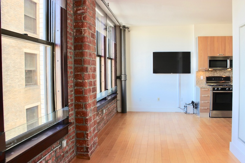 STUDIO LOFT IN THE ROWAN BUILDING | ALL UTILITIES INCLUDED | EXPOSED BRICK | EXTERIOR VIEW | W/D IN UNIT