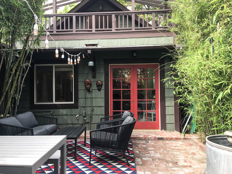 Serene Back House w/ Loft| Flexible Lease | Fully Furnished | Private Front Patio