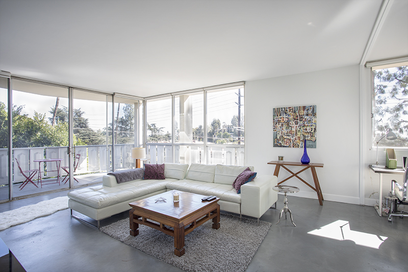 Sophisticated Furnished Modern Condo | Floor to Ceiling Windows  | Balcony w/ beautiful Views | Prime Los Feliz Location | Flexible Lease