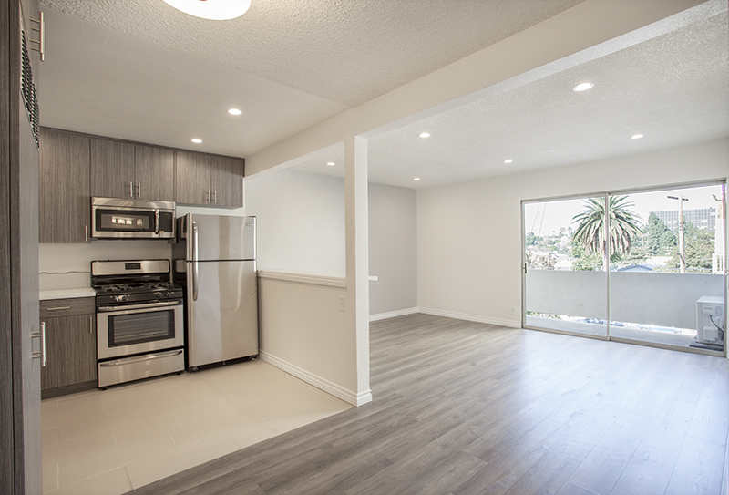 Brand New! JUST Renovated, Luxury Mid-Century One Bed - GREAT LOCATION