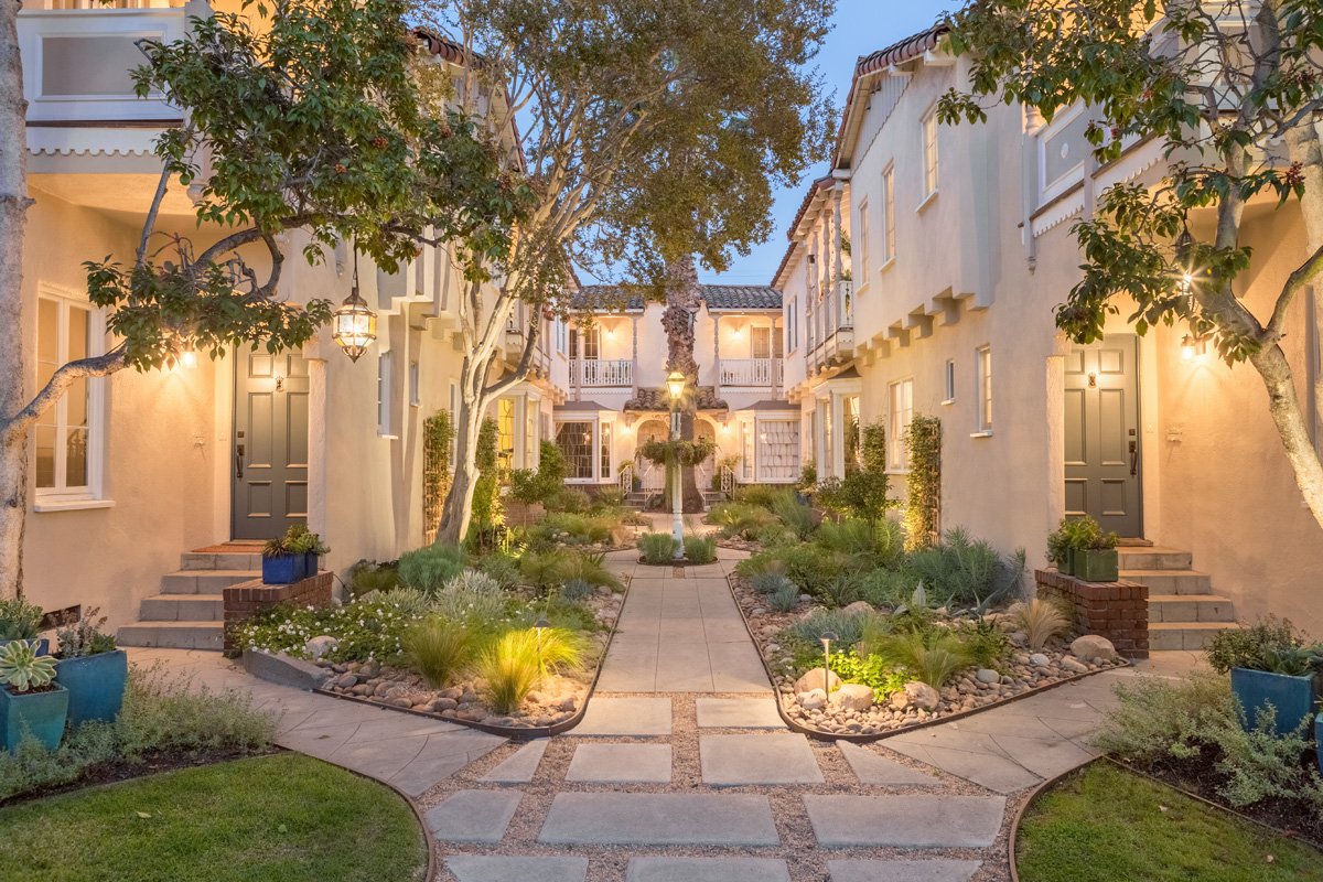 Exclusive El Mirador Townhouse | Lush Garden Oasis | Old World Meets Modern | Central Los Feliz Location