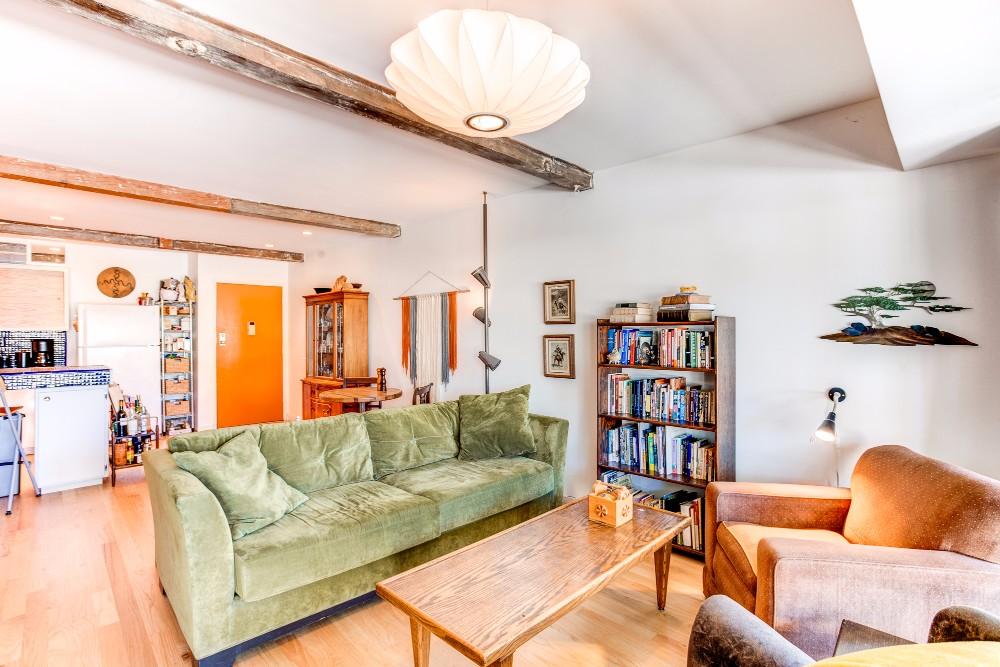 Furnished Mid-Century Condo | Steps from Echo Park Lake | Community Pool | Private Balcony | Parking Included
