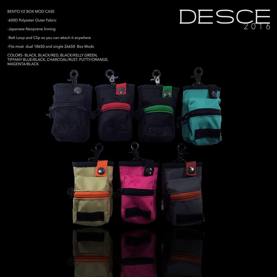 VAPEケースのDESCEが放つ2016最新コレクション。耐久性の高いケースはとっても実用的♪