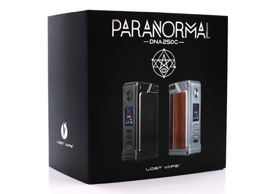 Lost Vape Paranormal DNA 250C Box