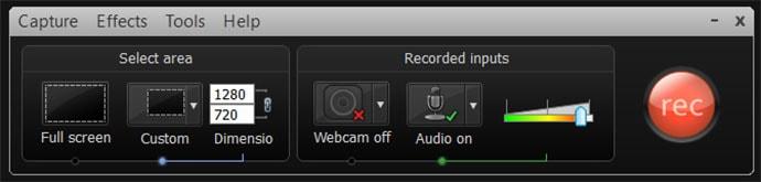 Ti recording video