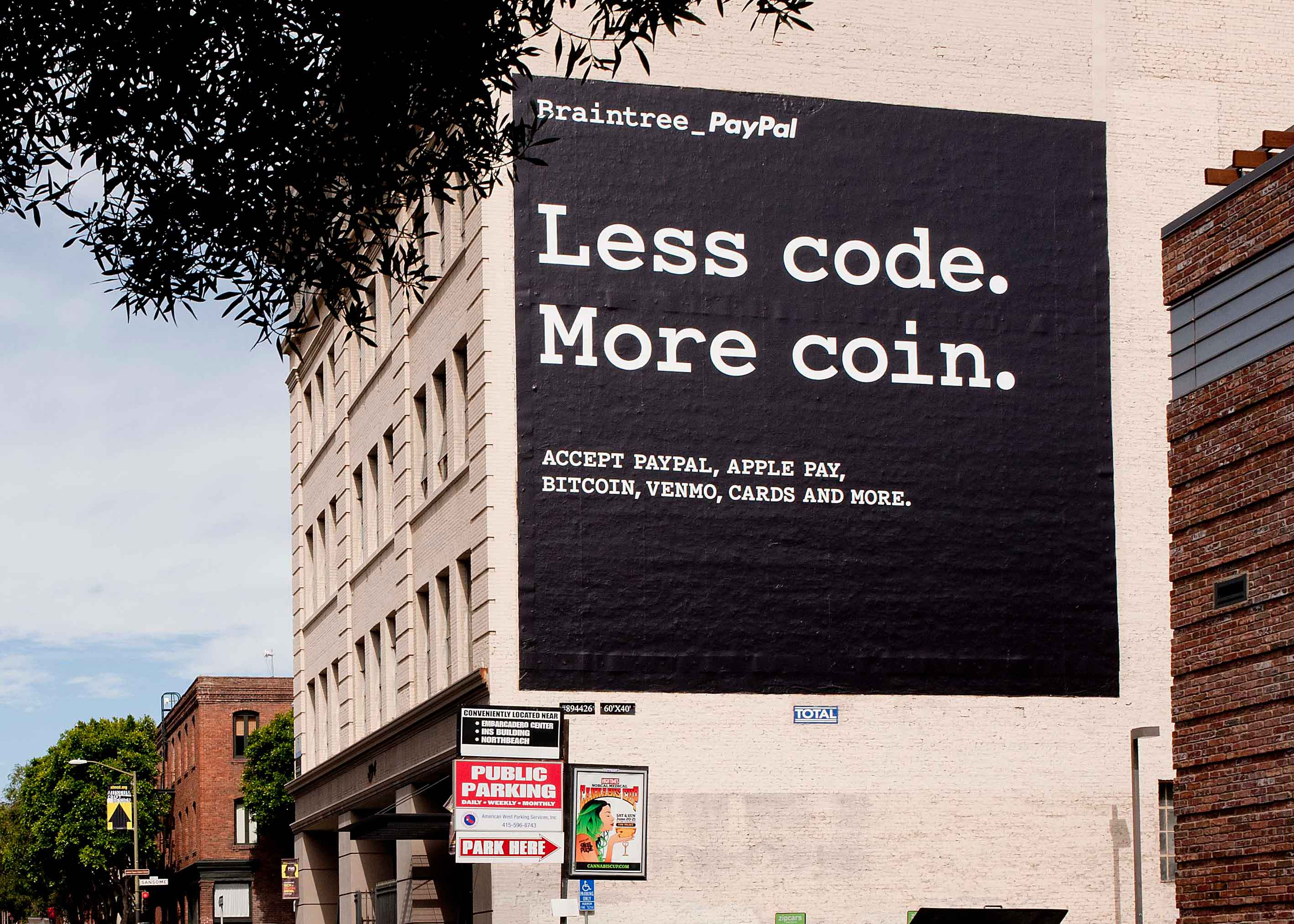 less code. more coin.