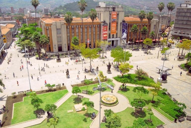 10. Plaza Botero
