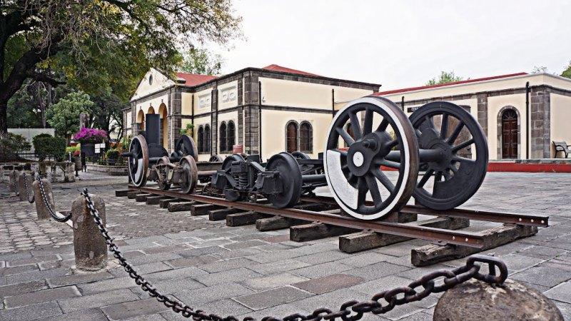 14. Museo del Ferrocarril de México