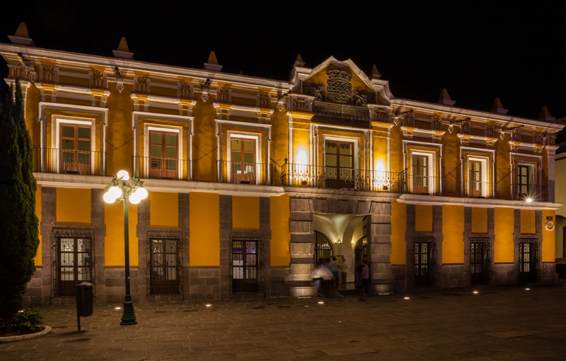 16. Teatro Principal de Puebla