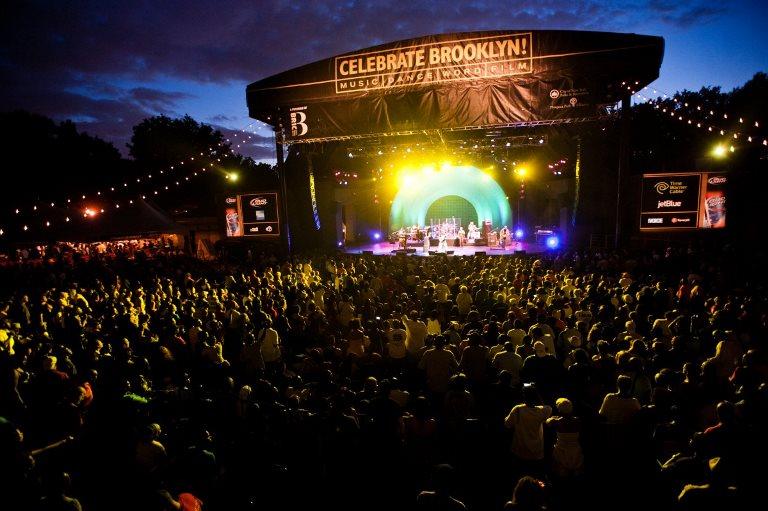 2. Asistir a un concierto en Prospect Park