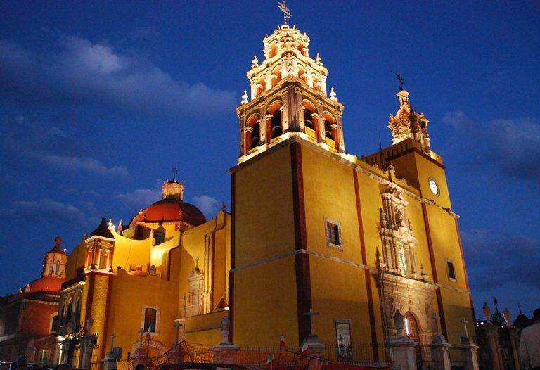 2. Basílica Colegiata de Nuestra Señora de Guanajuato