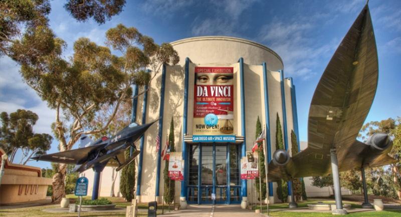 1. Museo Aeronáutico y Espacial de San Diego