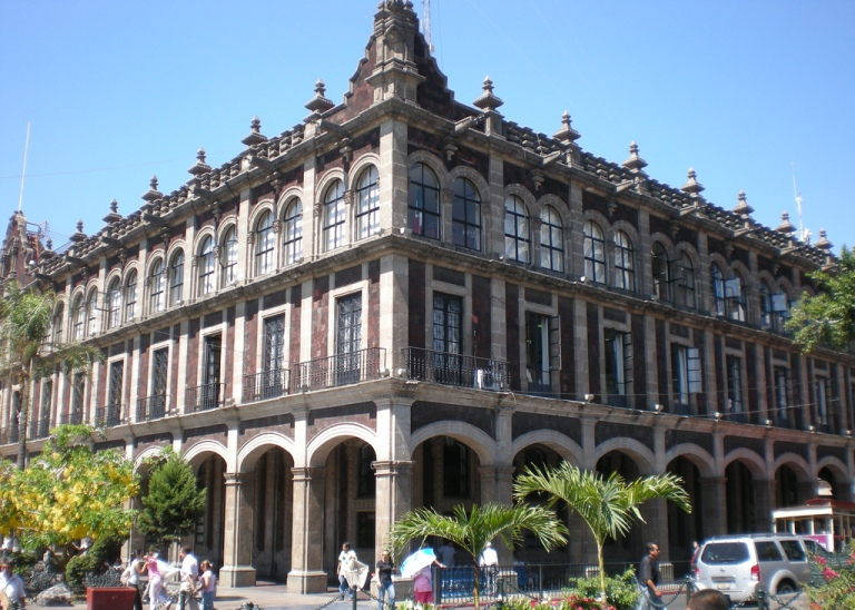 3. El Palacio de Gobierno