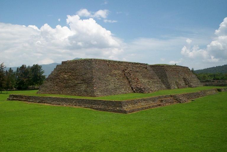 8. Yacimientos arqueológicos de Michoacán