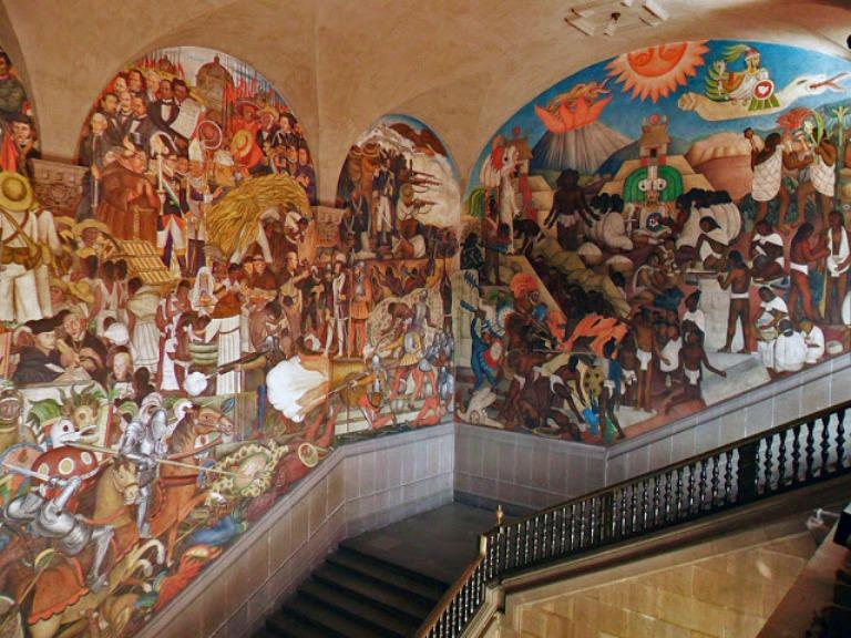 10. Murales de Palacio Nacional