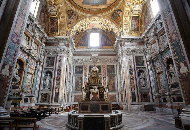 13. Basílica Papal de Santa María la Mayor
