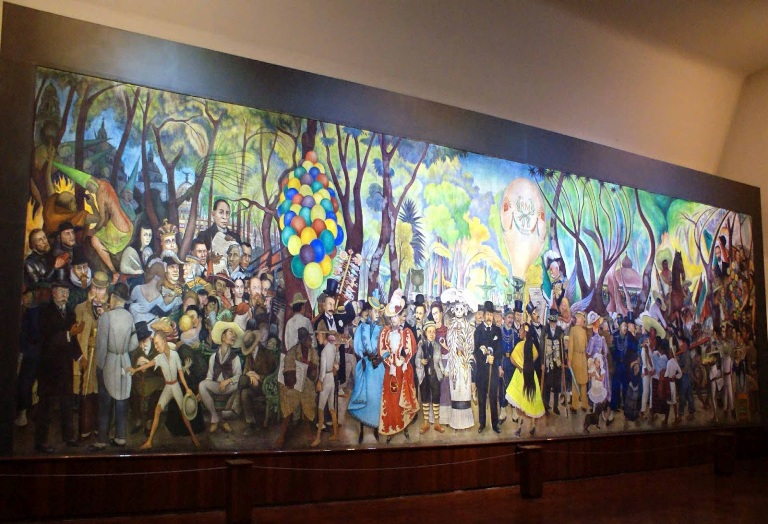 16. Museo Mural Diego Rivera