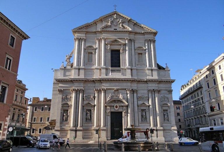 17. Basílica de Sant'Andrea della Valle