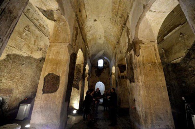 18. Basílica subterránea de Porta Maggiore