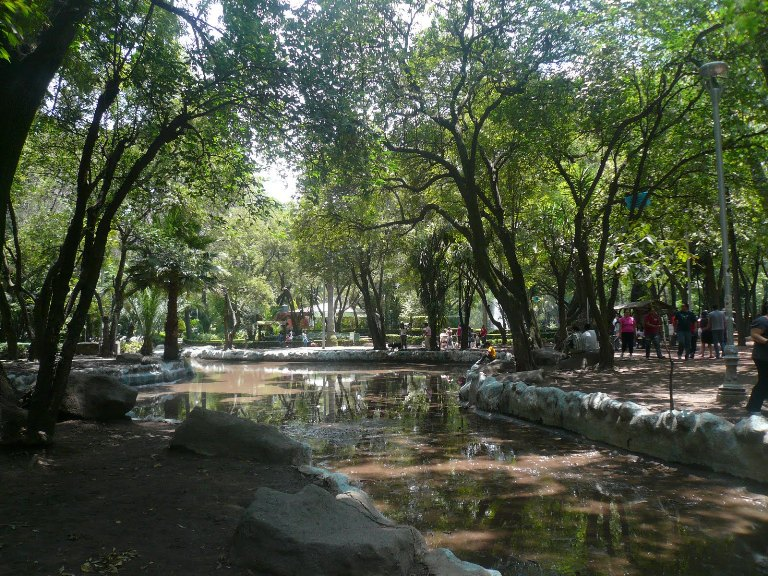 18. Un paseo en el Parque México
