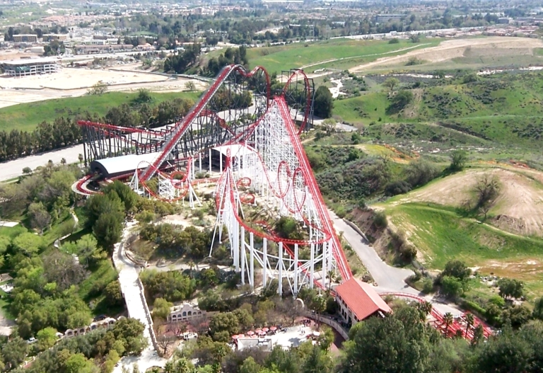 19. Six Flags Magic Mountain