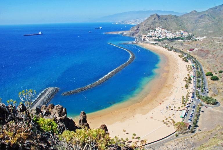 2. Playa de Las Teresitas, Tenerife