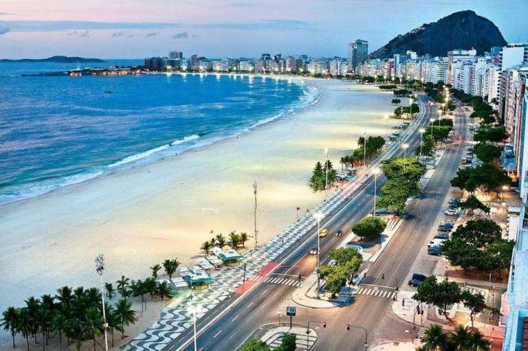 20. Copacabana, Río de Janeiro