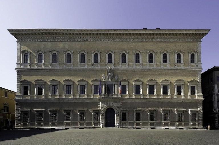 22. Palacio Farnesio